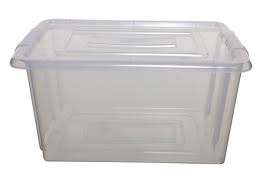 Large plastic tub litter tray