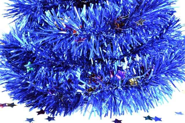 Keep tinsel away from cats
