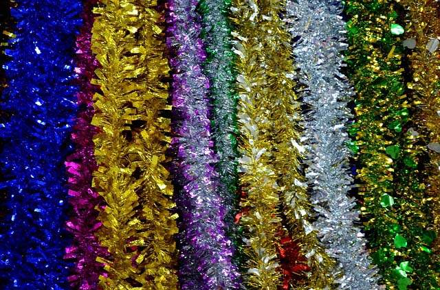 The dangers of Christmas tinsel around cats