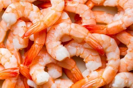 Prawns and shrimp
