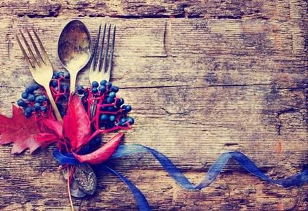Thanksgiving ribbon