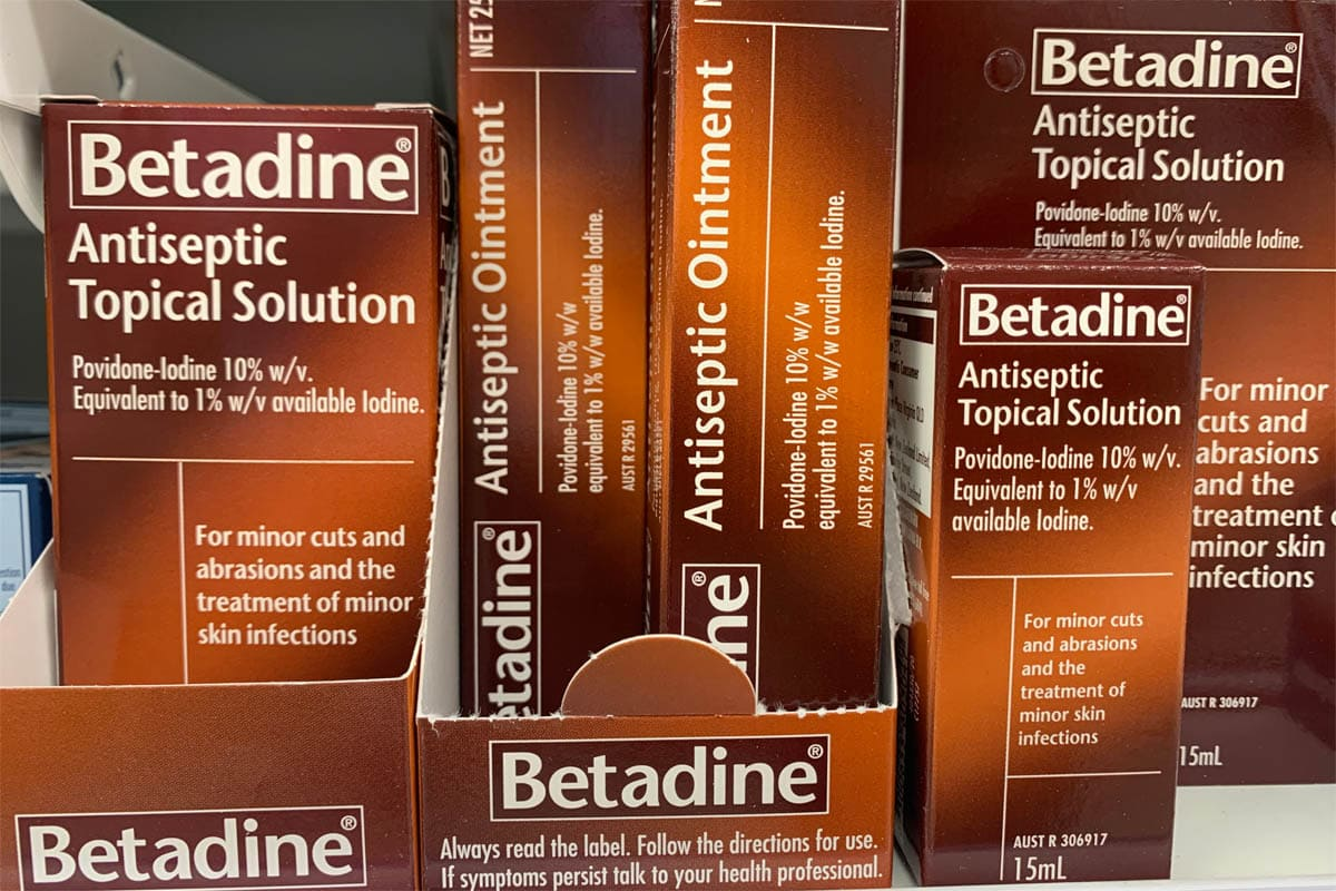 Can you use Betadine on cats?